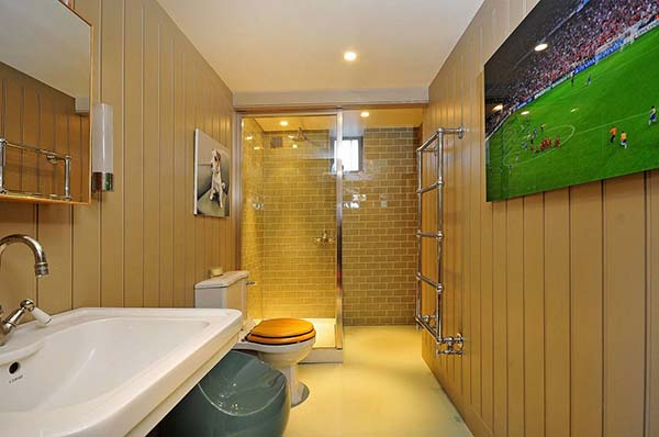 zone de douche