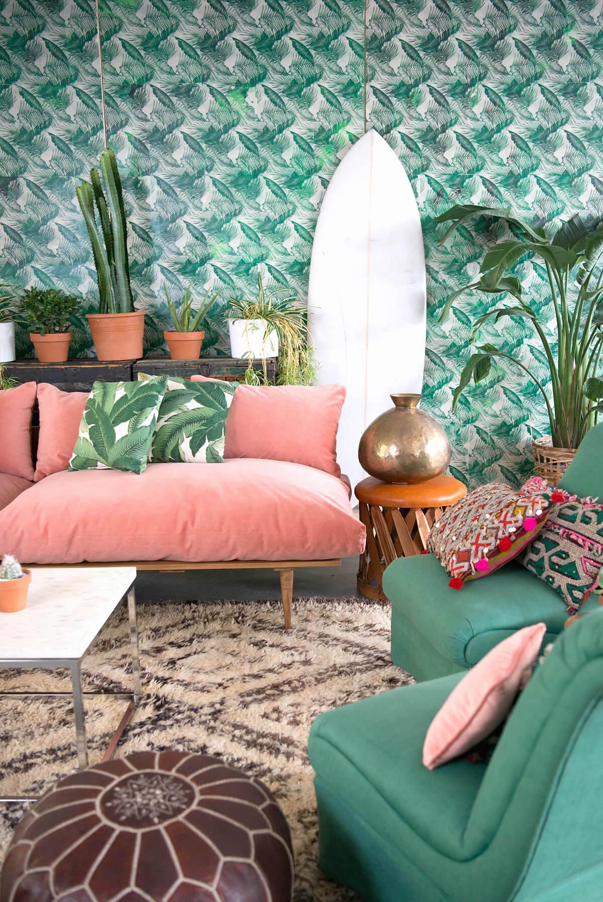 Surfer Paradise avec des meubles pastel