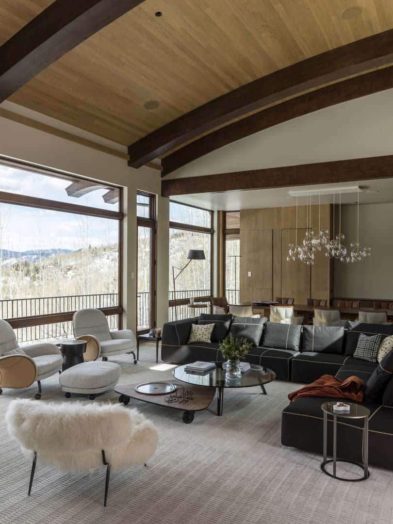 Rénovation contemporaine de montagne-Menendez Architects-03-1 Kindesign