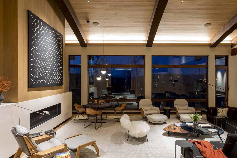Rénovation contemporaine de montagne-Menendez Architects-08-1 Kindesign