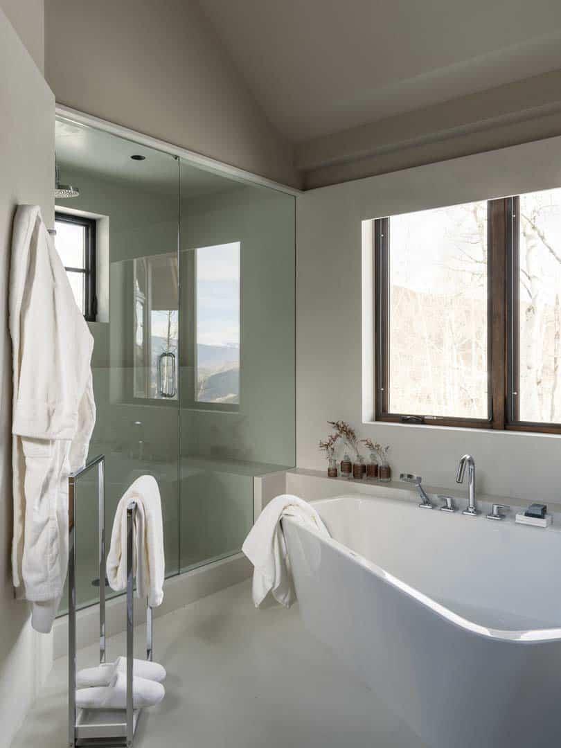 Rénovation contemporaine de montagne-Menendez Architects-20-1 Kindesign