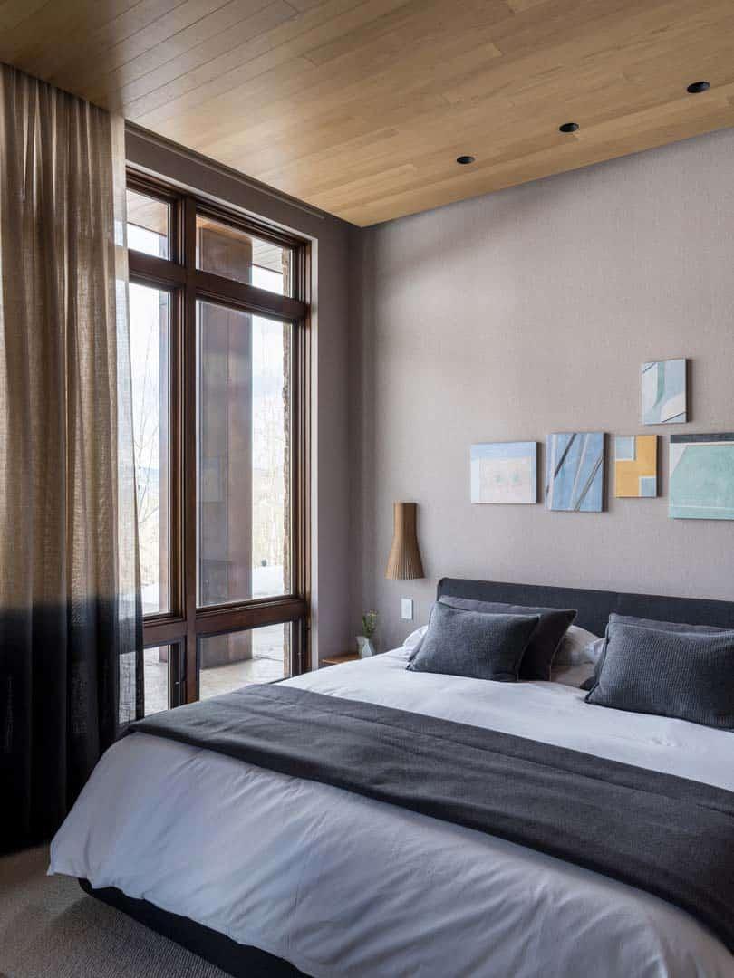 Rénovation contemporaine de montagne-Menendez Architects-25-1 Kindesign