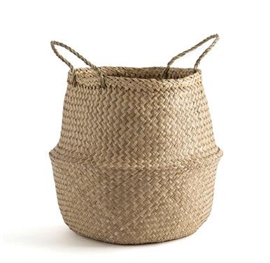 panier de jardinière en fibre naturelle