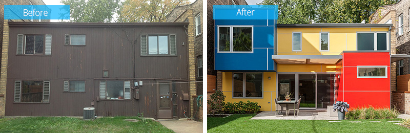 Rénovation Illinois mise à jour colorée
