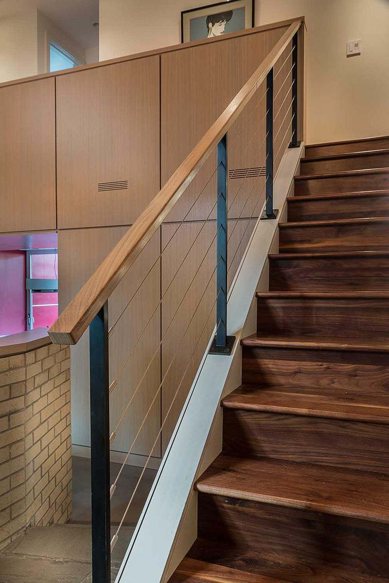 Rénovation des escaliers de l'Illinois