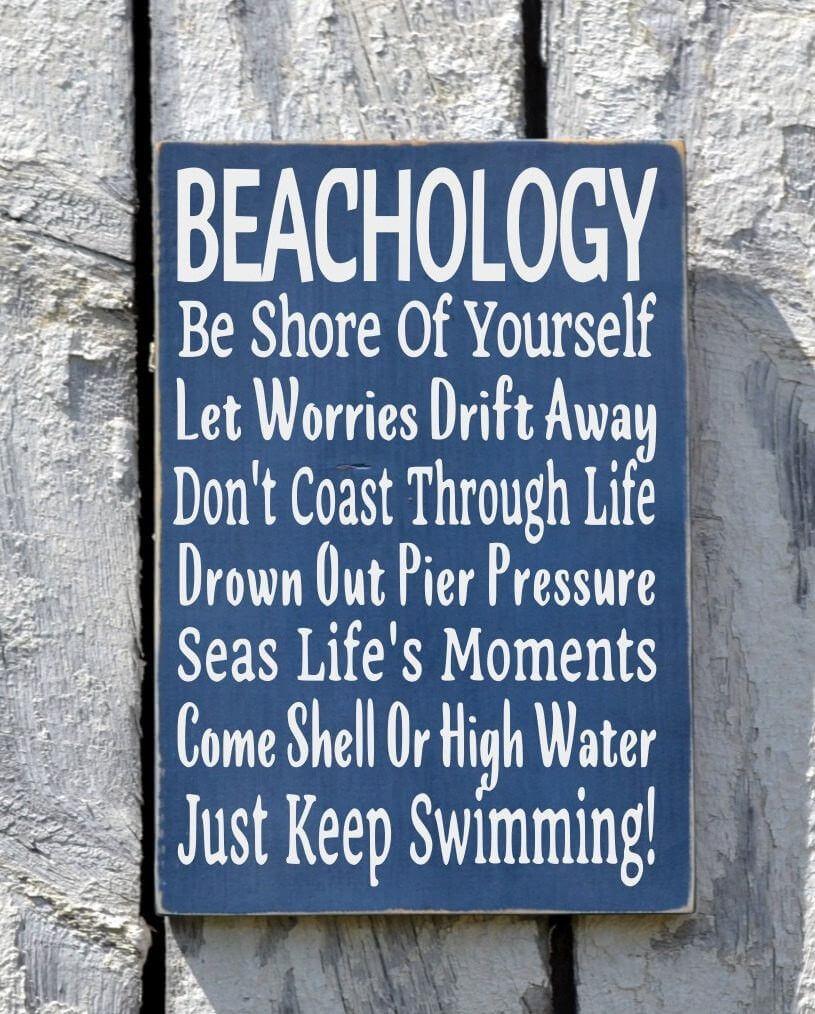 Bons conseils appris à la plage