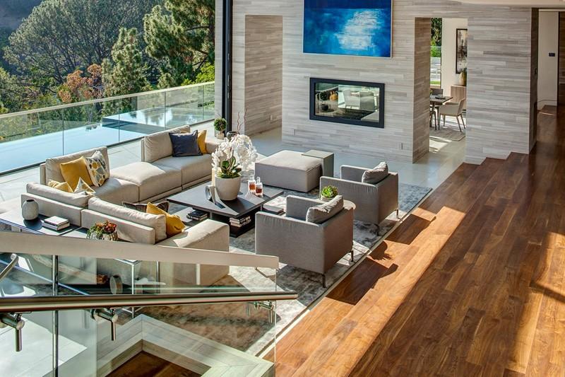 Espace de vie Hollywood Hills Home