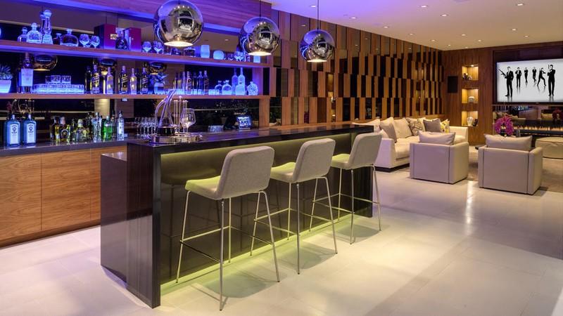 Bar à la maison Hollywood Hills