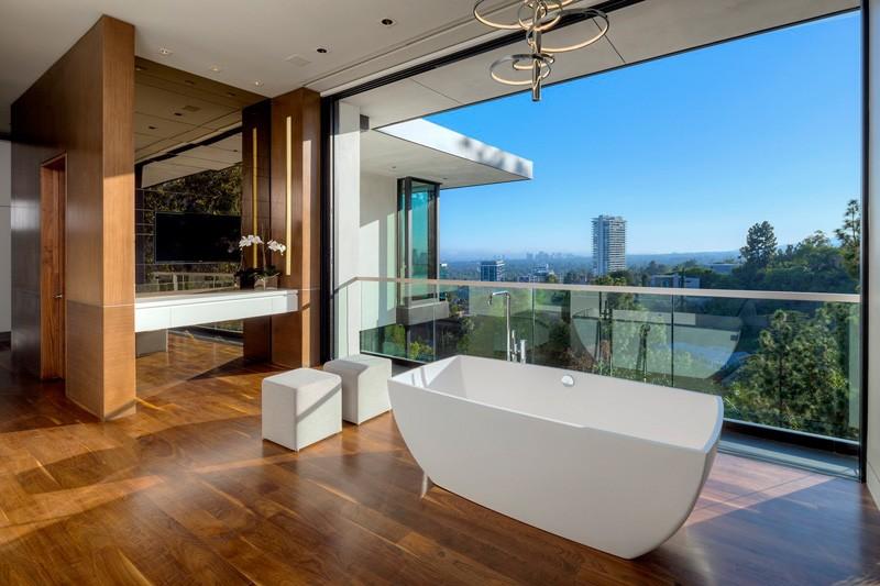 Baignoire Hollywood Hills Home