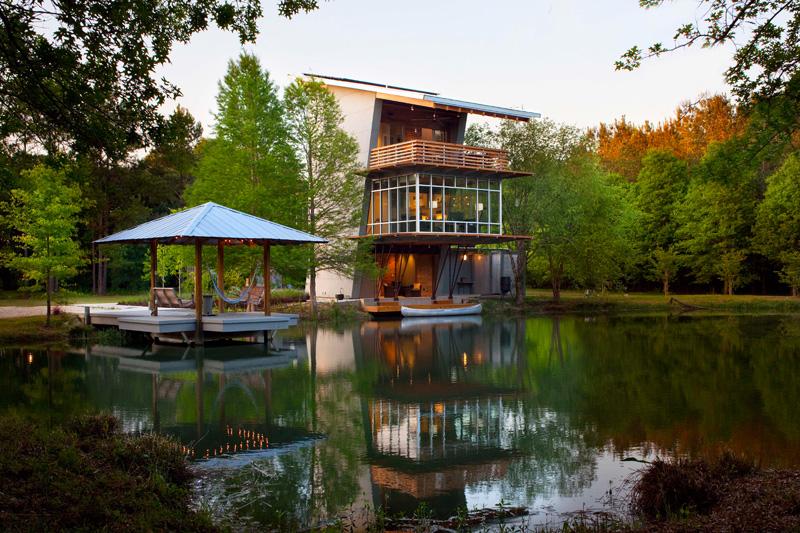 La maison de l'étang