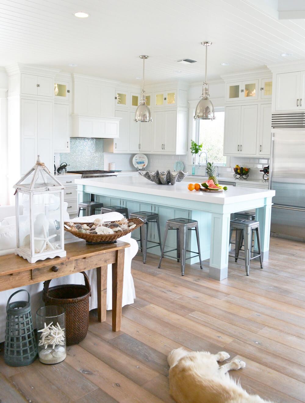 Pensez à accentuer les zones inattendues de votre cuisine