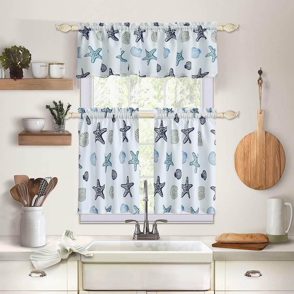 Traitement de fenêtre Starfish Coastal