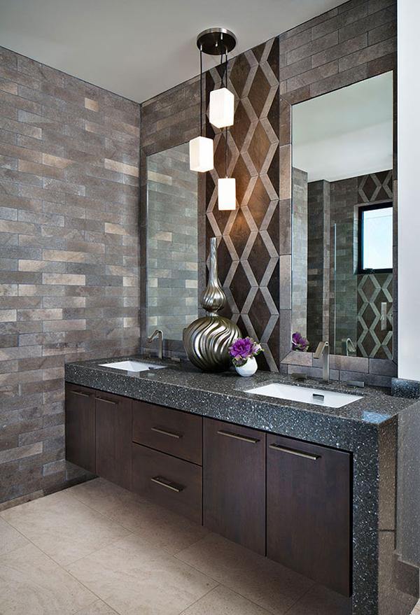 murs de la salle de bain