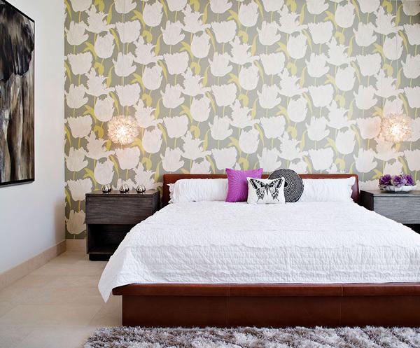 papier peint de chambre à coucher