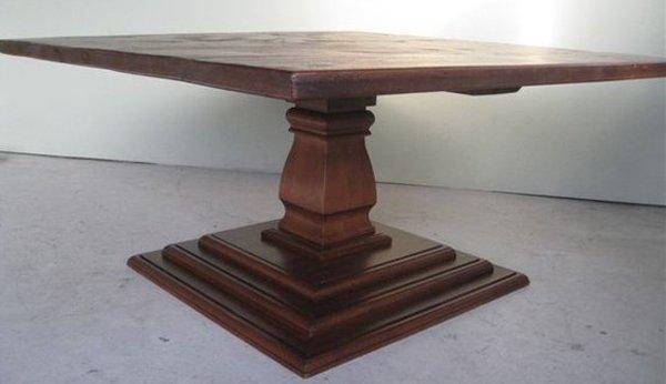 Bases de table de piédestal