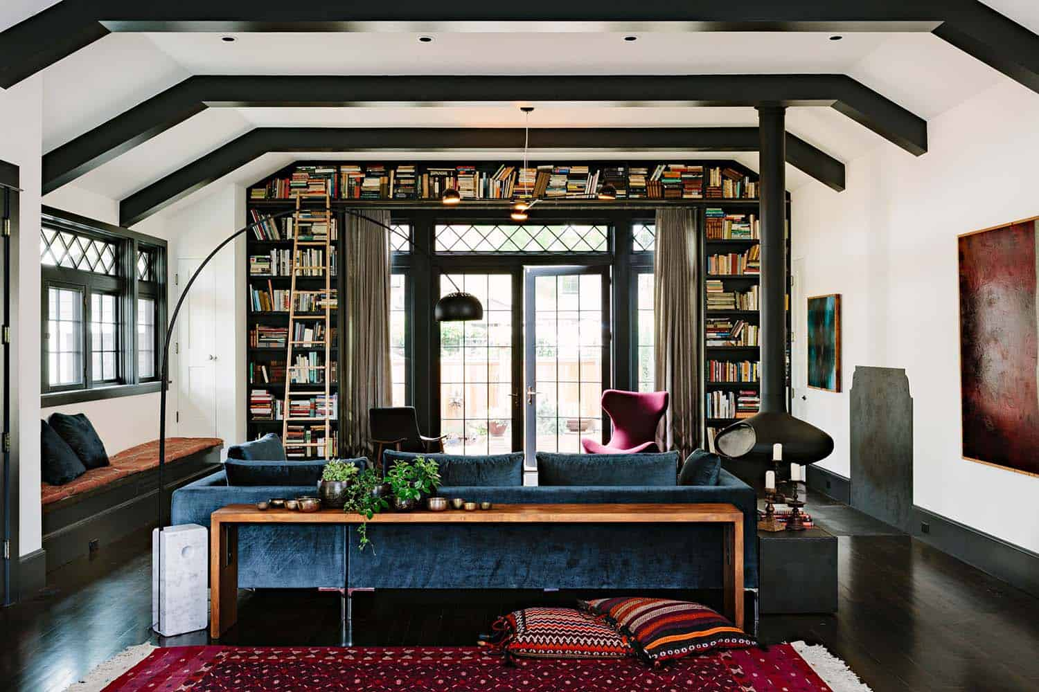 Invitant Library House-Jessica Helgerson-03-1 Kindesign