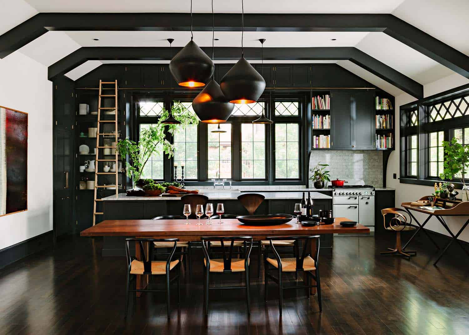Invitant Library House-Jessica Helgerson-04-1 Kindesign