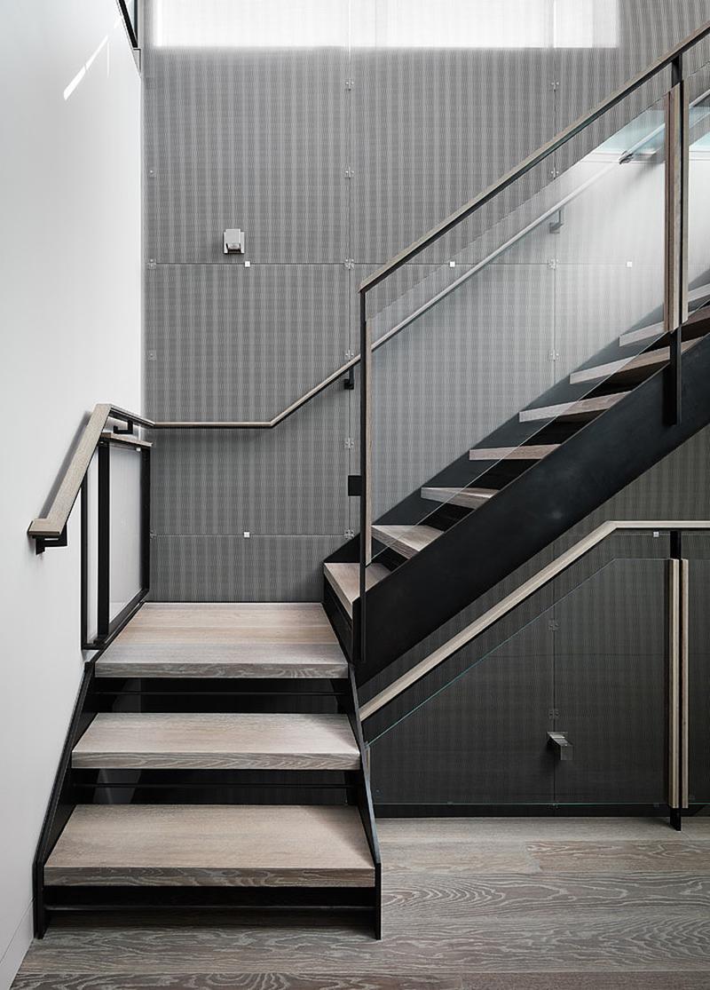 Escaliers de Telegraph Hill House