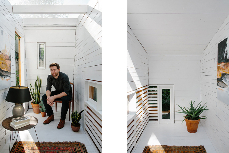 Matériaux en bois Brooklyn Garden Studio
