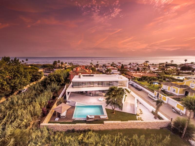 Cool Blue Villa vue