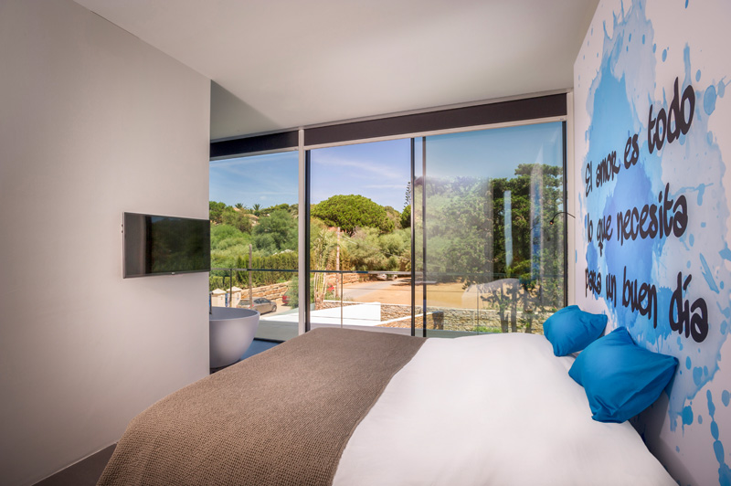 Chambre Cool Blue Villa