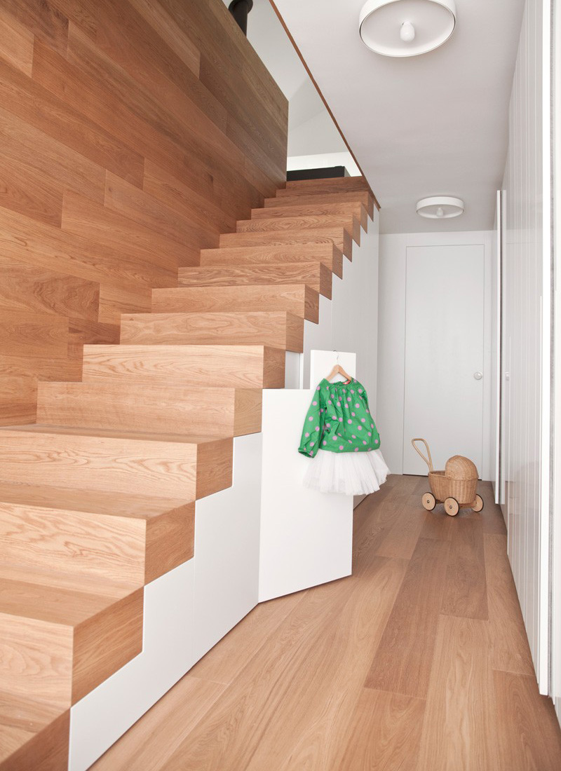 Escalier de la maison Katarina