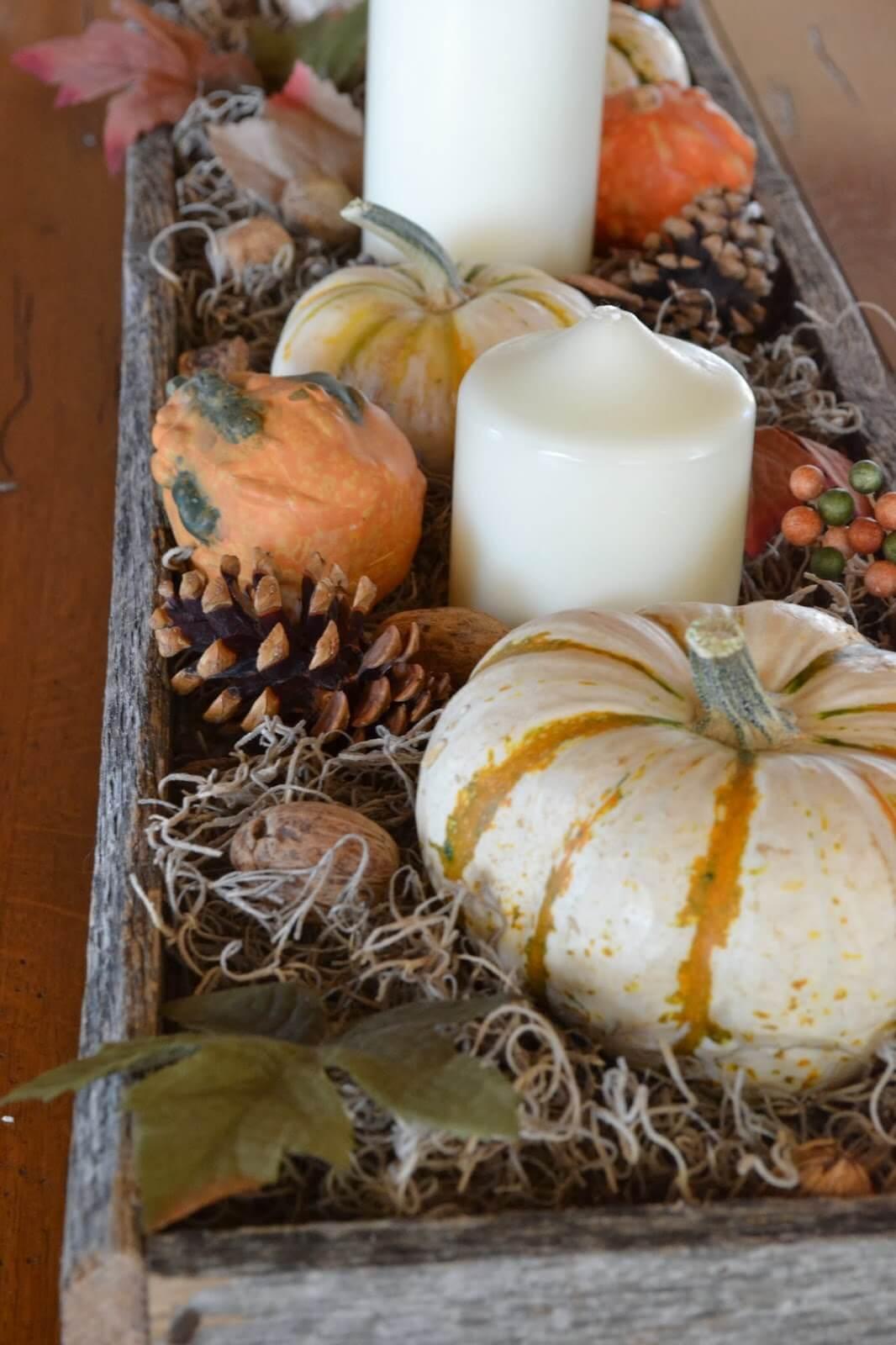 Pièce maîtresse d'automne Quintessential