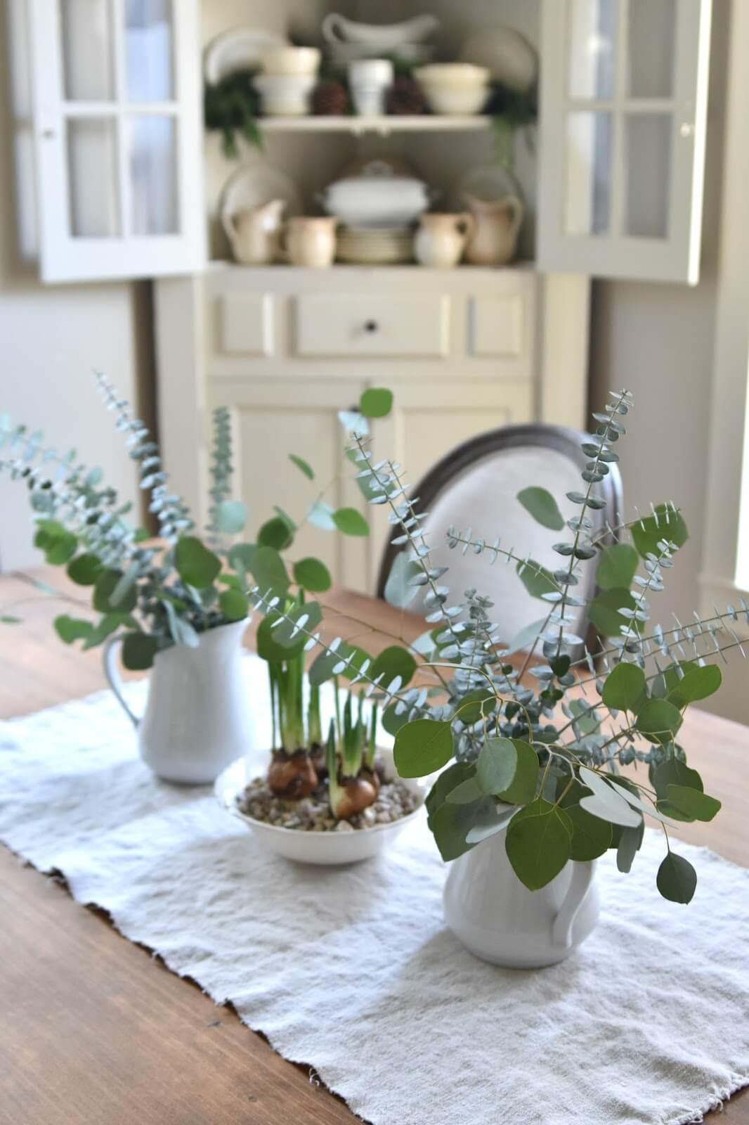 Affichage de ferme vert doux et blanc brillant