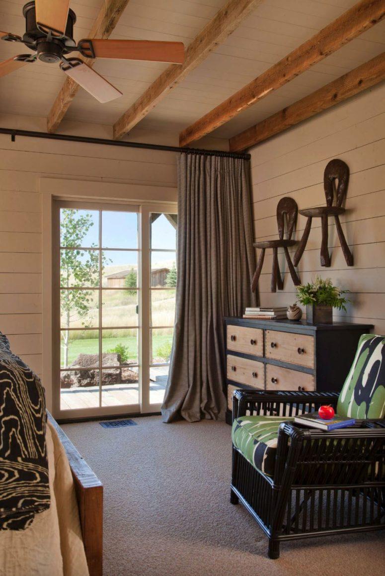 Chaque chambre a un accès à l'extérieur pour y accéder plus facilement