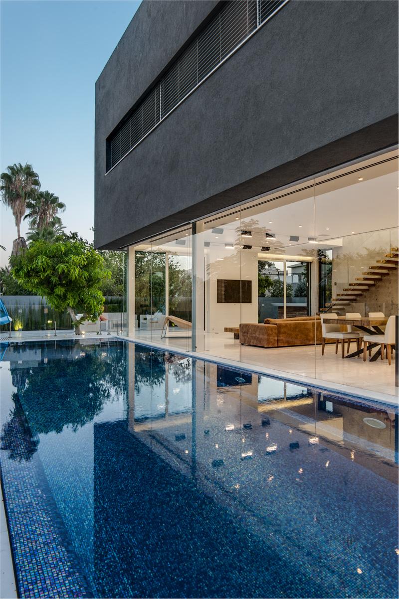 Espace piscine Hidden House