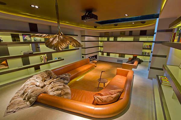 bibliothèque souterraine
