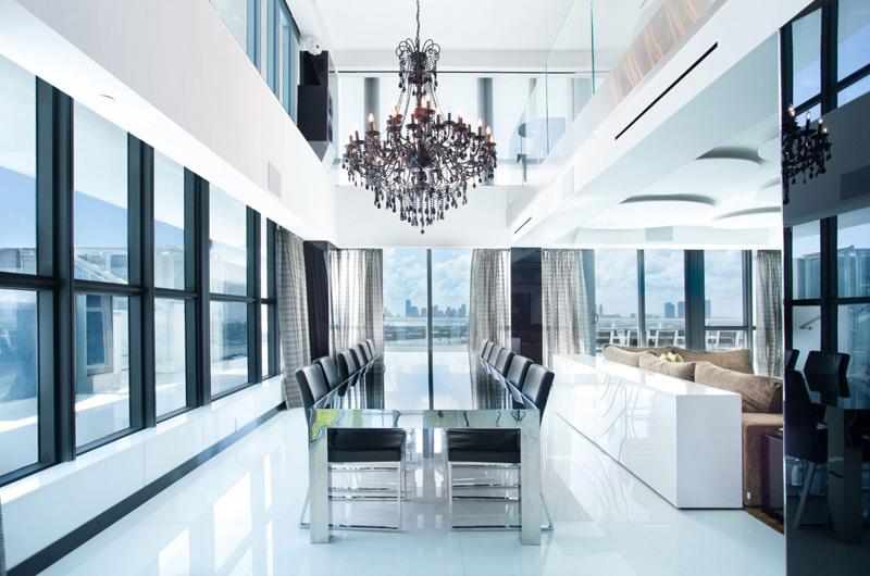 Salle à manger Penthouse Bentley Bays
