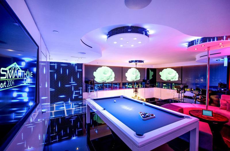 Espace de divertissement Penthouse Bentley Bays