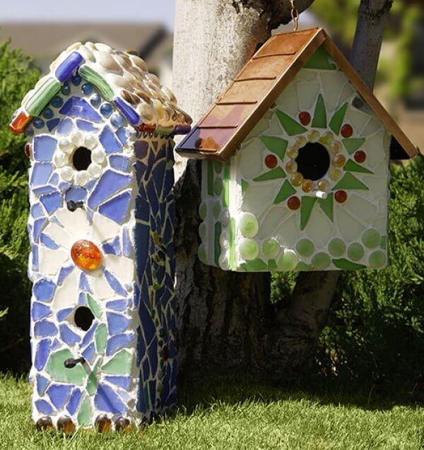17 superbes projets de décoration en mosaïque de bricolage pour votre jardin