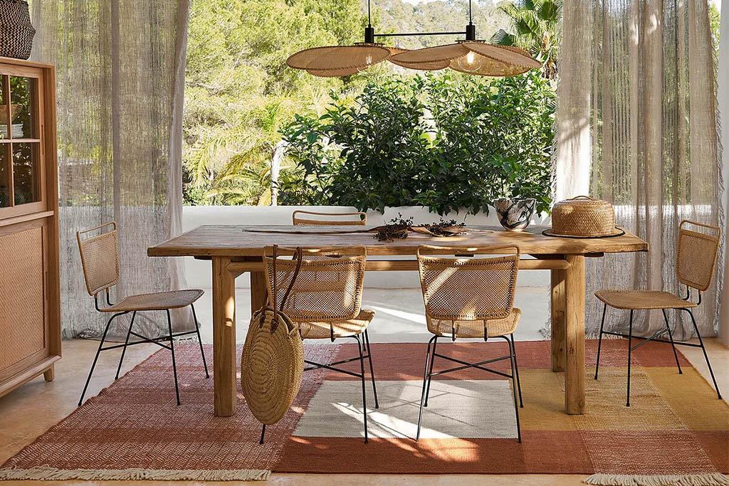 tables en bois rustiques