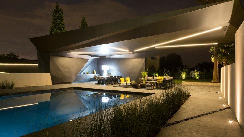 Kloof Road House piscine