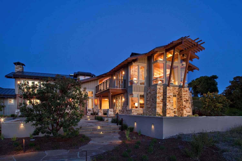Maison de ranch contemporaine-Scavullo Design-17-1 Kindesign