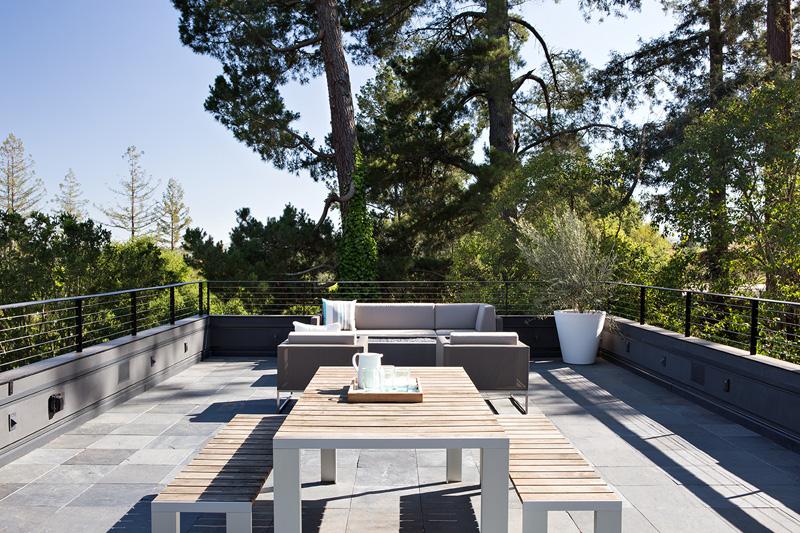 Terrasse de toit California Addition