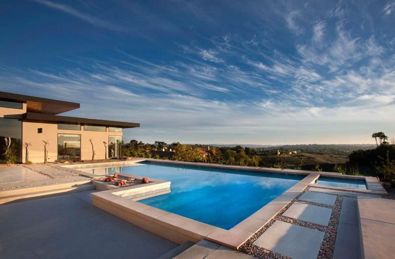 California House piscine