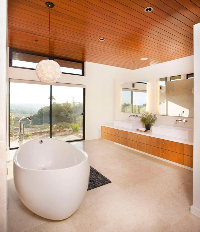 Salle de bain California House