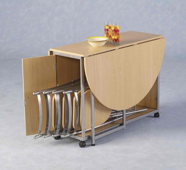 Tables de salle à manger à abattant