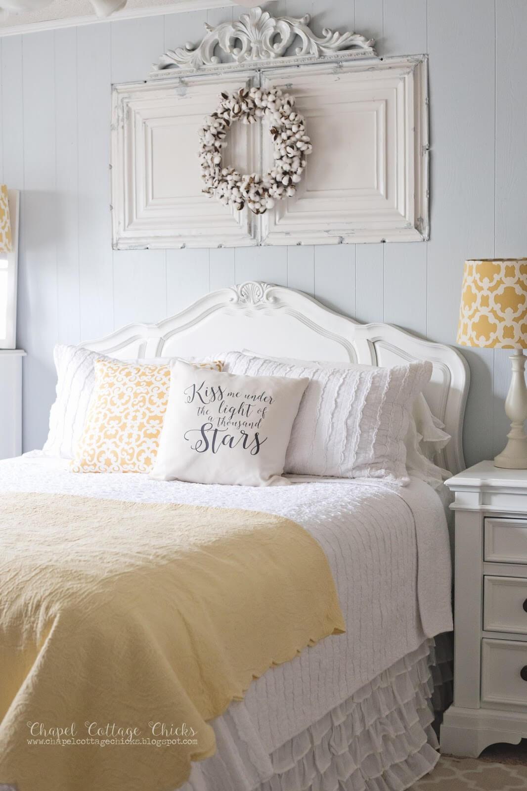 Une suite de chambre à coucher pop de couleur
