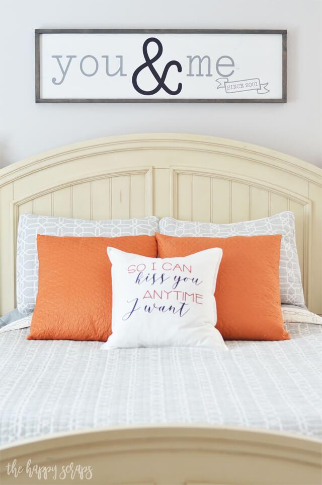 Idées de décoration de chambre avec des touches de couleur