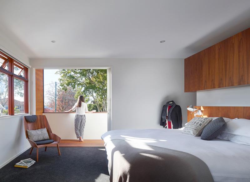 Chambre à coucher de la maison de 2 étages