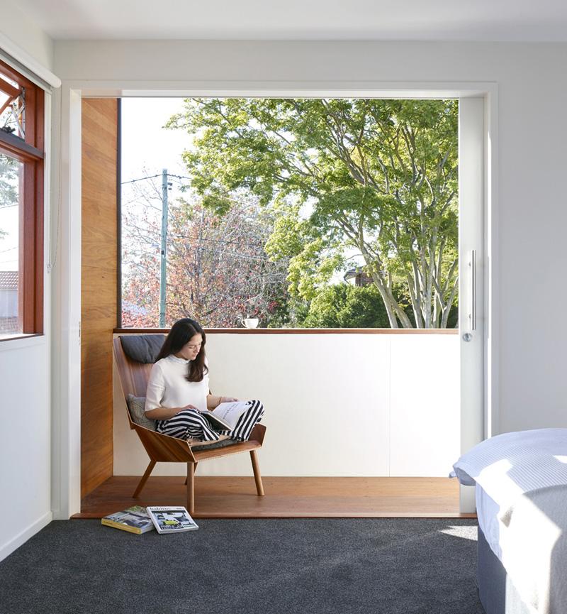fenêtre de la maison minimaliste moderne