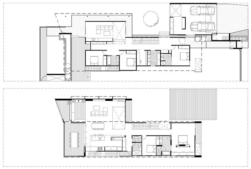 plan d'étage de la maison brisbane