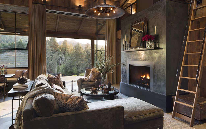 Maison de style ferme-Jennifer Robin Interiors-02-1 Kindesign