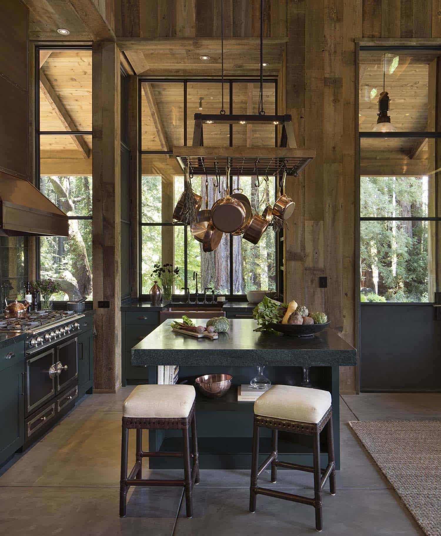Maison de style ferme-Jennifer Robin Interiors-006-1 Kindesign