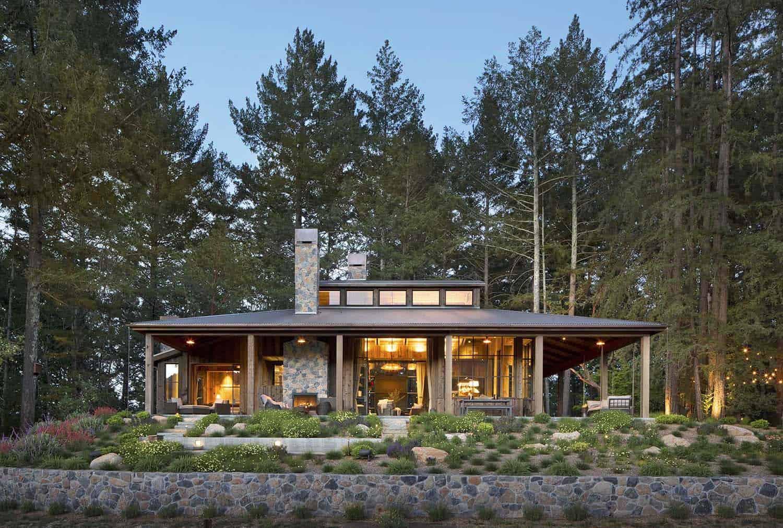 Maison de style ferme-Jennifer Robin Interiors-17-1 Kindesign