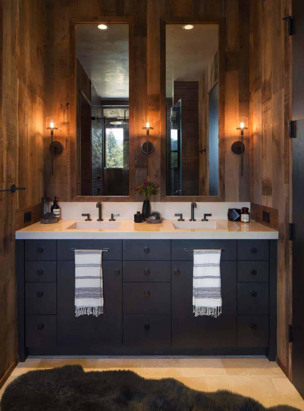Maison de style ferme-Jennifer Robin Interiors-13-1 Kindesign